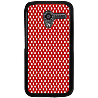 Ayaashii Red Dots Back Case Cover for Motorola Moto X XT1058::Motorola Moto X (1st Gen)