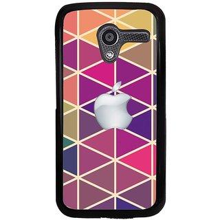 Ayaashii Apple Cut Diamon Pattern Back Case Cover for Motorola Moto X XT1058::Motorola Moto X (1st Gen)