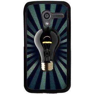 Ayaashii Bulb Back Case Cover for Motorola Moto X XT1058::Motorola Moto X (1st Gen)