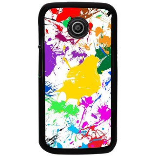 Ayaashii Plenty Of Colors Back Case Cover for Motorola Moto E2::Motorola Moto E (2nd Gen)