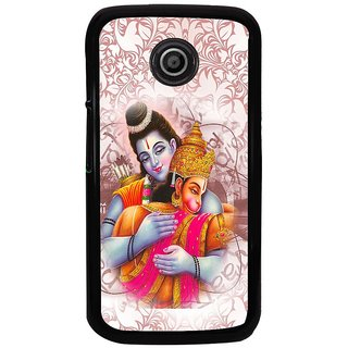 Ayaashii Jai Shree Ram Back Case Cover for Motorola Moto E2::Motorola Moto E (2nd Gen)