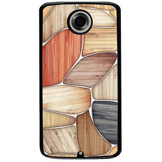 Ayaashii Shaded Stones Back Case Cover for Motorola Google Nexus 6