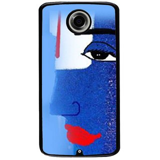 Ayaashii Shree Vishnu Back Case Cover for Motorola Google Nexus 6