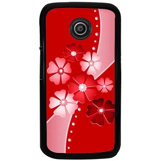 Ayaashii Flower Pattern Back Case Cover for Motorola Moto E XT1021::Motorola Moto E (1st Gen)