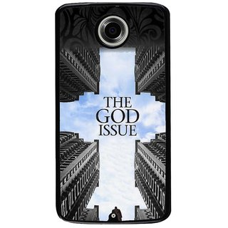 Ayaashii The God Issue Back Case Cover for Motorola Google Nexus 6