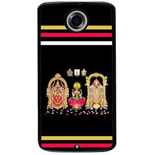 Ayaashii The Lord Balaji Back Case Cover for Motorola Google Nexus 6