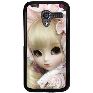 Ayaashii Cute Doll Back Case Cover for Motorola Moto X XT1058::Motorola Moto X (1st Gen)