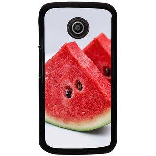 Ayaashii Watermelon Back Case Cover for Motorola Moto E2::Motorola Moto E (2nd Gen)