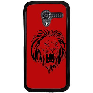 Ayaashii Sketch Of A Lion Back Case Cover for Motorola Moto X XT1058::Motorola Moto X (1st Gen)