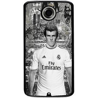 Ayaashii A Football Player Back Case Cover for Motorola Google Nexus 6