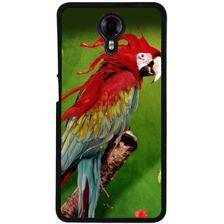 Ayaashii Parrot Painting Back Case Cover for Micromax Canvas Xpress 2 E313::Micromax Canvas Xpress 2 (2nd Gen)