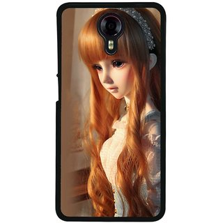 Ayaashii A Cute Doll Back Case Cover for Micromax Canvas Xpress 2 E313::Micromax Canvas Xpress 2 (2nd Gen)