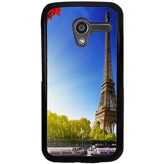 Ayaashii Eifil Tower Back Case Cover for Motorola Moto X XT1058::Motorola Moto X (1st Gen)