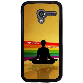 Ayaashii Yoga Is Your Nature Back Case Cover for Motorola Moto X XT1058::Motorola Moto X (1st Gen)
