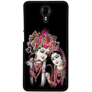 Ayaashii Shree Radha Krishna Back Case Cover for Micromax Canvas Xpress 2 E313::Micromax Canvas Xpress 2 (2nd Gen)