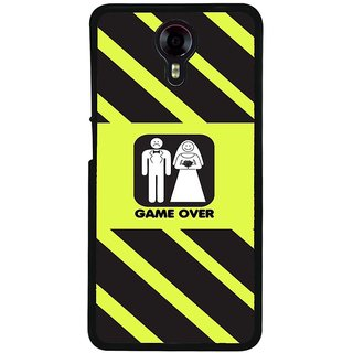 Ayaashii Game Over Back Case Cover for Micromax Canvas Xpress 2 E313::Micromax Canvas Xpress 2 (2nd Gen)