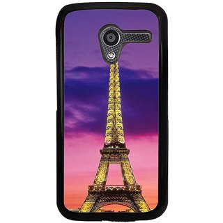Ayaashii Eiffel Tower Back Case Cover for Motorola Moto X XT1058::Motorola Moto X (1st Gen)