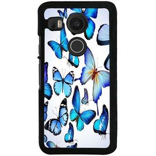 Ayaashii Group Of Butterflies Back Case Cover for LG Google Nexus 5X::LG Google Nexus 5X (2nd Gen)