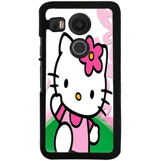Ayaashii Hello Kitty Back Case Cover for LG Google Nexus 5X::LG Google Nexus 5X (2nd Gen)
