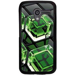 Ayaashii Ice Cubes Back Case Cover for Motorola Moto X XT1058::Motorola Moto X (1st Gen)