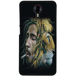 Ayaashii Chegovera With Tiger Back Case Cover for Micromax Canvas Xpress 2 E313::Micromax Canvas Xpress 2 (2nd Gen)