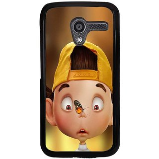 Ayaashii Butterfly On His Nose Back Case Cover for Motorola Moto X XT1058::Motorola Moto X (1st Gen)