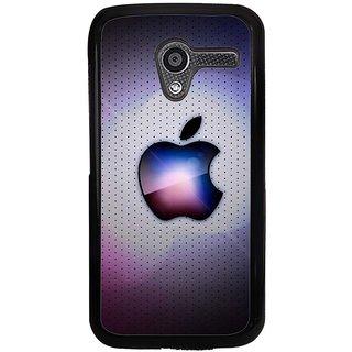 Ayaashii Apple Logo Back Case Cover for Motorola Moto X XT1058::Motorola Moto X (1st Gen)