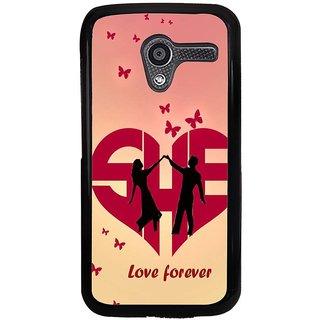 Ayaashii Love Forever Back Case Cover for Motorola Moto X XT1058::Motorola Moto X (1st Gen)