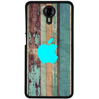 Ayaashii Aqua Apple With Pattern Back Case Cover for Micromax Canvas Xpress 2 E313::Micromax Canvas Xpress 2 (2nd Gen)