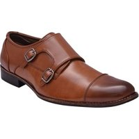 Wave Walk Tan Synthetic Men's Oxford Shoes