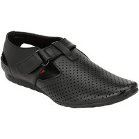 Wave Walk Black Synthetic Men's Loafers