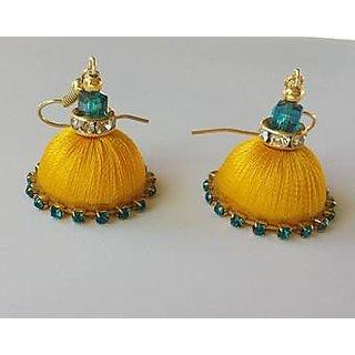 silk thread jewellery for women