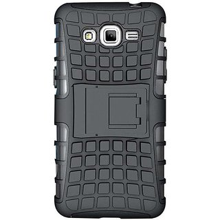 Back Cover For Samsung Galaxy Grand Prime G530 - Black