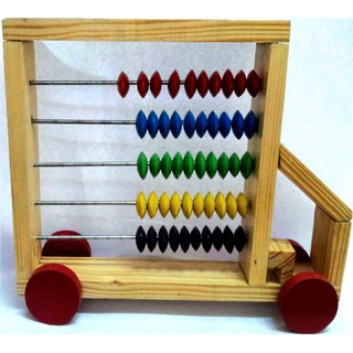 Learners Play Pull Along Abacus