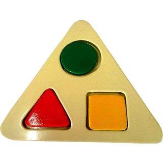 Learners Play Triangle Shape Board