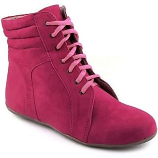 Red Bravo'S Ankle Length Boots