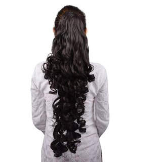 Homeoculture Halo Natural Brown hair extension with Plastic clutcher 24 inches