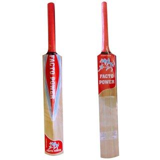Facto Power Popular Willow Cricket Bat - (Size  6) (Model  2828)