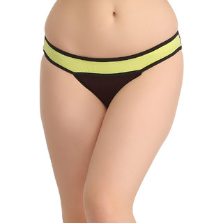 Clovia Green Plain Pantie