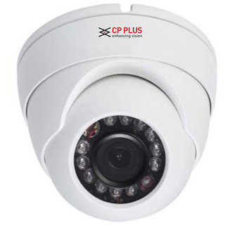 CP Plus D10 L2A 1MP 12 IR HDCVI Dome Camera - White