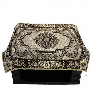 Satroop chenille table cover Rd 01 coffee
