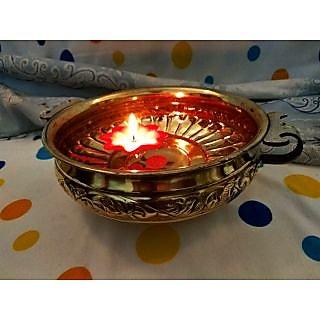 Brass Handicrafts Urli Antique Designer Decorative 16