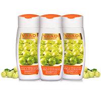 Vaadi Herbals Value Pack of 3 Amla Shikakai Shampoo-Hairfall  Damage Control (110mlx3)