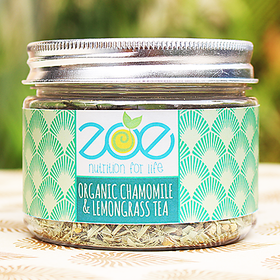 Organic Lemongrass  Chamomile Tea From Zoe