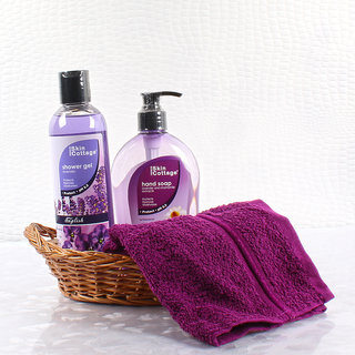 Skin Cottage Lavender Fragrance Body Care Beauty Hamper for Female
