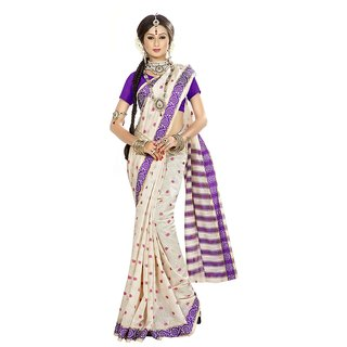 Chigy Whigy Purple   party wear Sarees