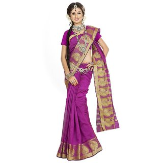 Chigy Whigy Pink  party wear Sarees