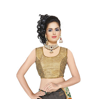 Melluha Party/Wedding Short Sleeves Square Neck Blouse