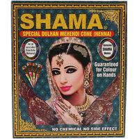 SHAMA Special Dulhan Mehandi Cone Hand Set for Women and Girls - Pack of 12  - (Brand Outlet)