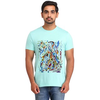 Snoby multicolored print t-shirt (SBY16973)